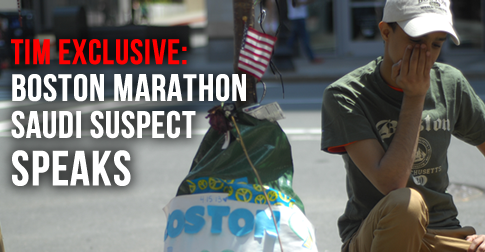 "TIM EXCLUSIVE: Boston Marathon Saudi ""Suspect"" Speaks Out"
