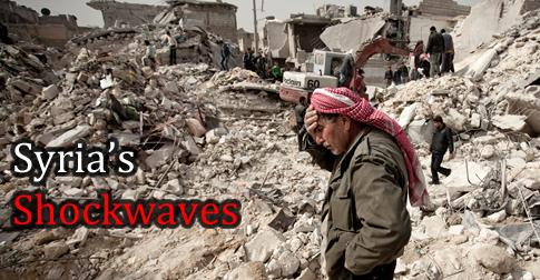 Syria's shockwaves