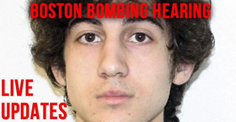 Boston Bombing Hearing: Live updates