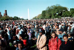 Million Man March '95 Photo courtesy of Joacim Osterstam.