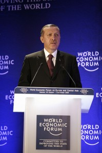 Prime Minister of Turkey, Tayyip Erdogan. Photo courtesy of World Economic Forum/Flickr.