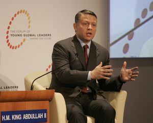 H.M. King Abdullah II of Jordan. Photo courtesy of World Economic Forum/Flickr.