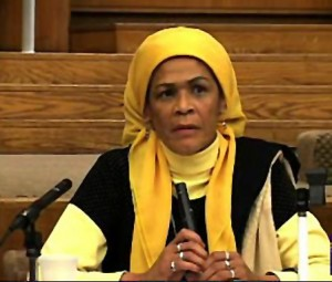 Scholar Amina Wadud. Photo courtesy of Zorahaida/Wikicommons.