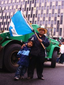 An immigration rally in NYC. Photo courtesy of John Gullo/Flickr.