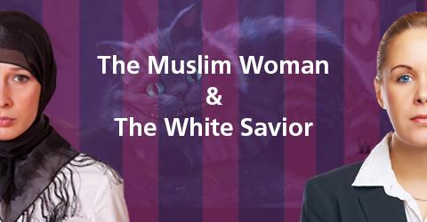 muslim woman and white savior slider