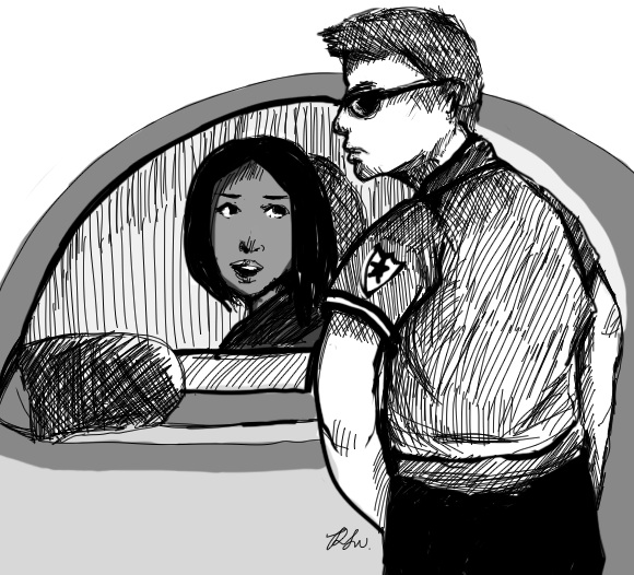 racial profiling drawing