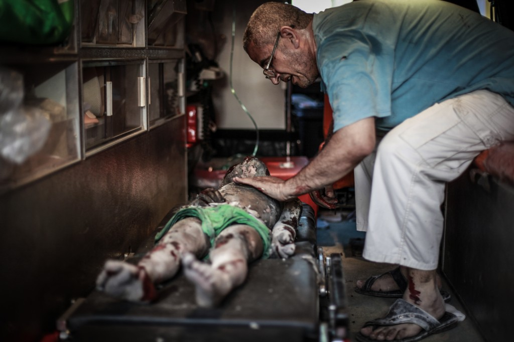 Palestinian Territories: Gaza War 2014