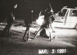 Rodney king beatings in LA. 1991.