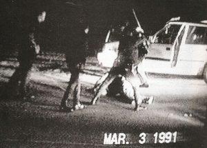 Rodney king beatings in LA. 1991.