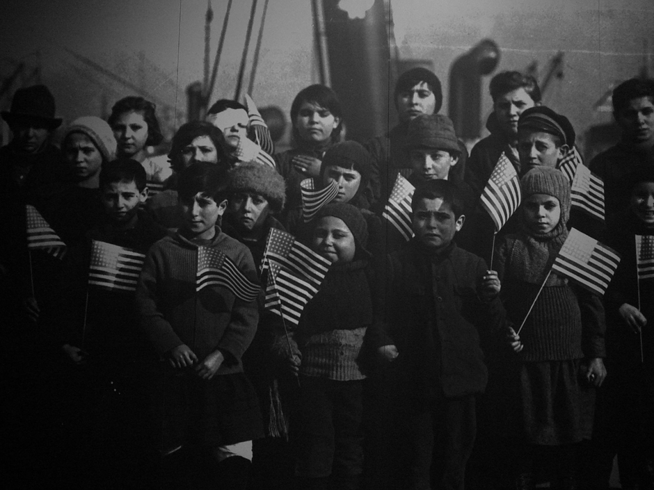 A group of Syrian children in New York City. 1908-1915.  TanmoyDas/Flikr