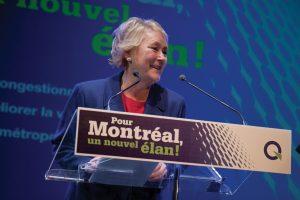 PQ Leader Paulie Marois in Quebec, Canada. Parti Quebecois/Flikr