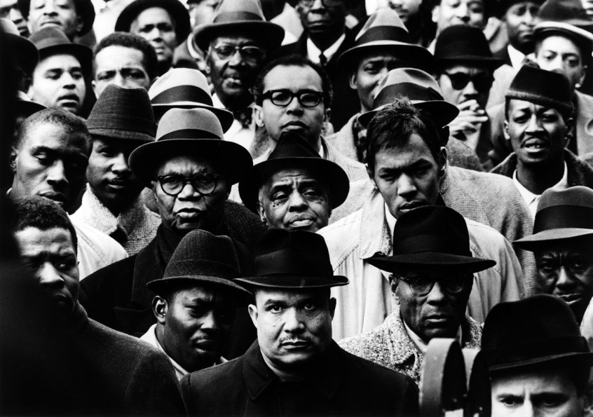 Black Muslim NY rally 1963