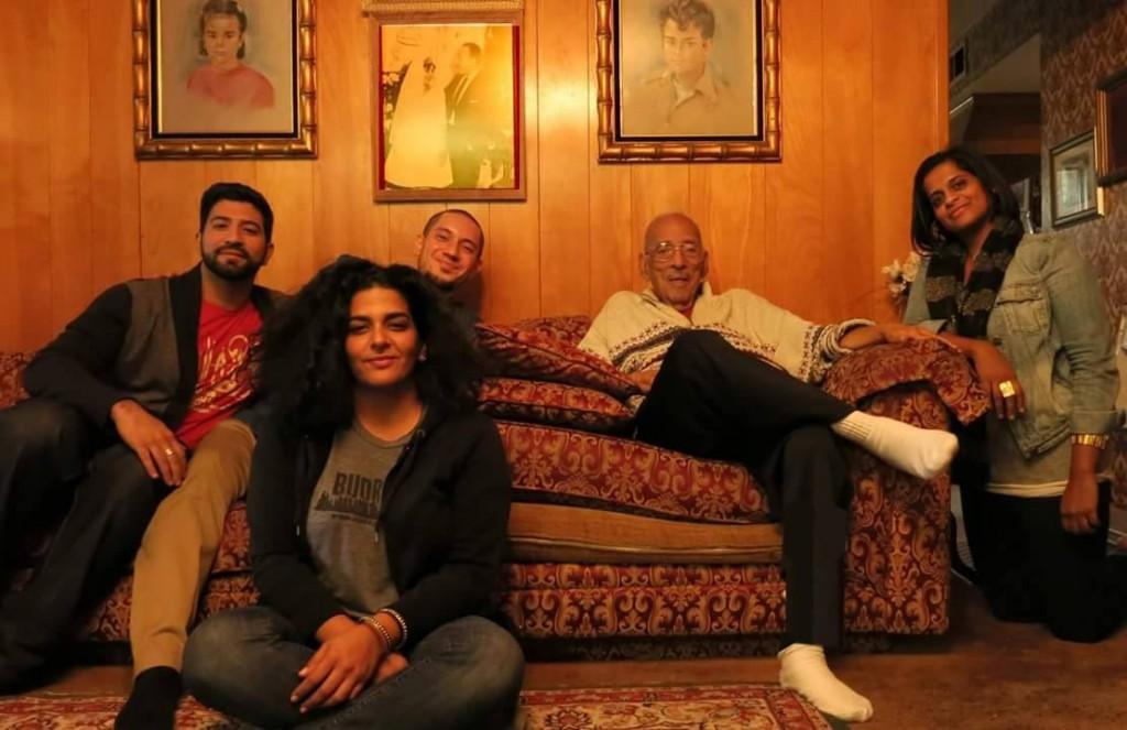 "The ""Haram"" team, (from left) Wesam Nassar, Susu Attar, Omar Chakaki, Dr. Maher Hathout and Samira Idroos"