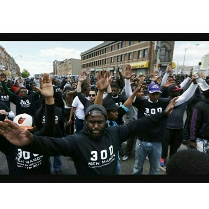 Baltimore's Uprising. Standing At The Front Line