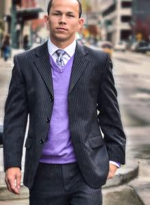 Voogd Picture (purple sweater)