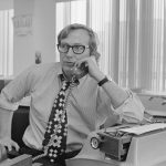New York Times reporter Seymour Hersh in 1974. File photo by Wally McNamee/Corbis