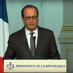 French President Francois Hollande >YouTube/Sky News