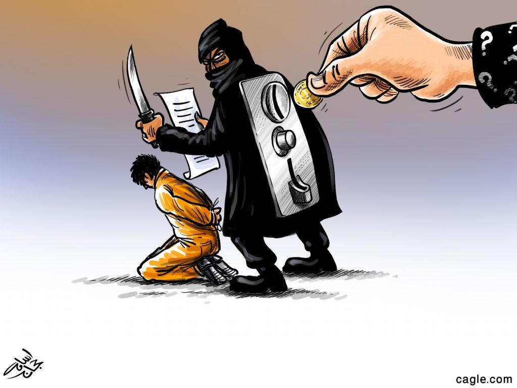 ISIS Business >Politicalcartoons.com/Osama Hajjaj