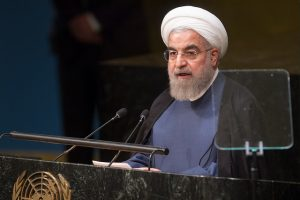 Iranian President Hassan Rouhani >Flickr/United Nations Photo