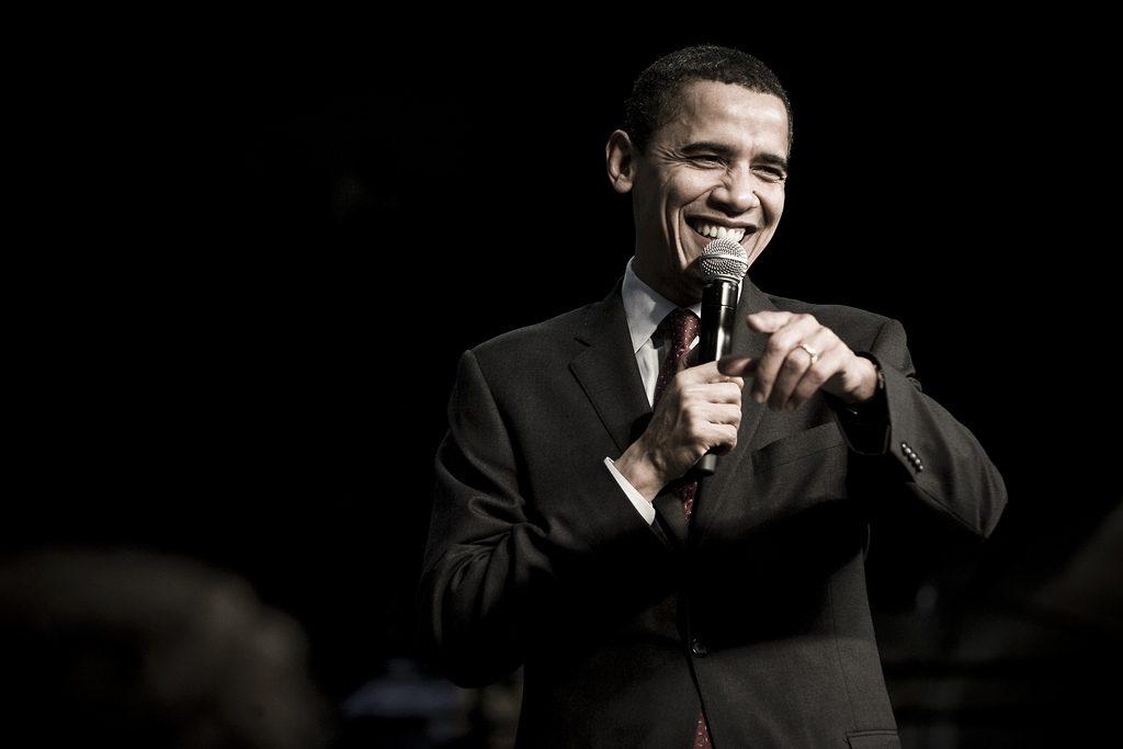 Barack Obama >Flickr/Joe Crimmings