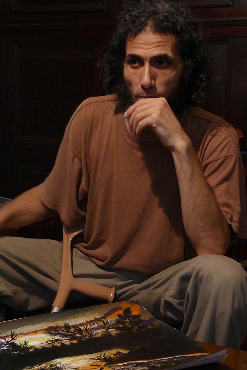 Jihad >Photo courtesy of Oscar Bonilla