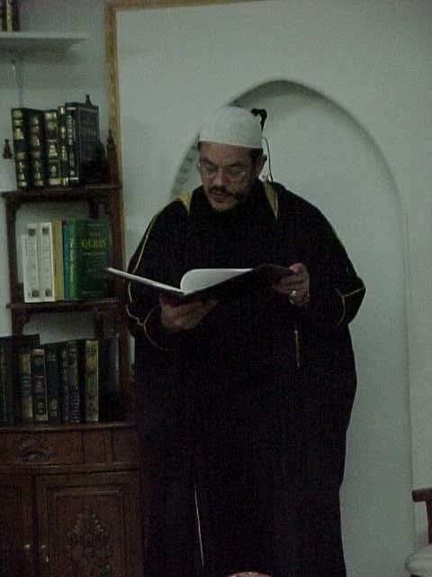 Yahya Figueroa Abdul Latif, Alianza Islamica's director and prime mover.
