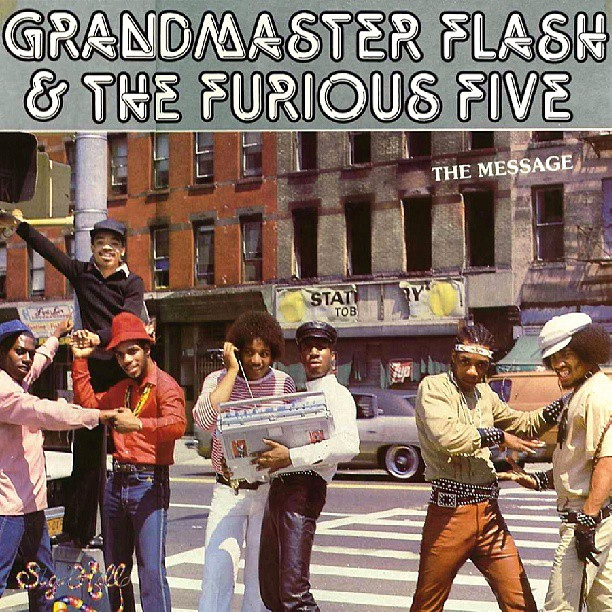 "Grandmaster Flash's ""Message"" album cover >Flickr/Takeshi"
