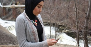 Noha Elsayed, 25, is inspired by the nature surrounding her and decides to post a relevant quote, pulled from the holy Quran