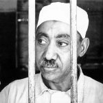 "Caption: Sayyid Qutb in prison in Egypt.   Credit: Cover of ""Sayyid Qutb and the Origins of Radical Islamism"" by John Calvert"