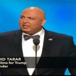 Tarar speaks at the RNC in 2016.