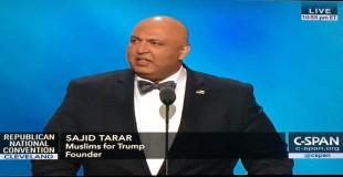 Tarar speaks at the RNC in 2016.