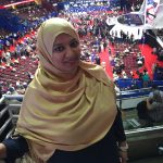Saba Ahmed at the RNC 2016. copyright Saba Ahmed